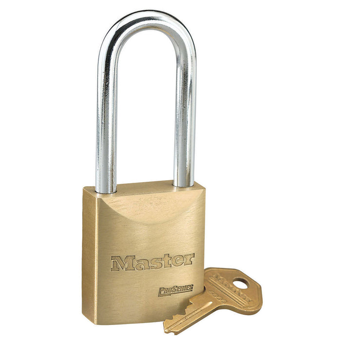 Master Lock 6840 ProSeries® Solid Brass Rekeyable Padlock 1-3/4in (44mm) Wide