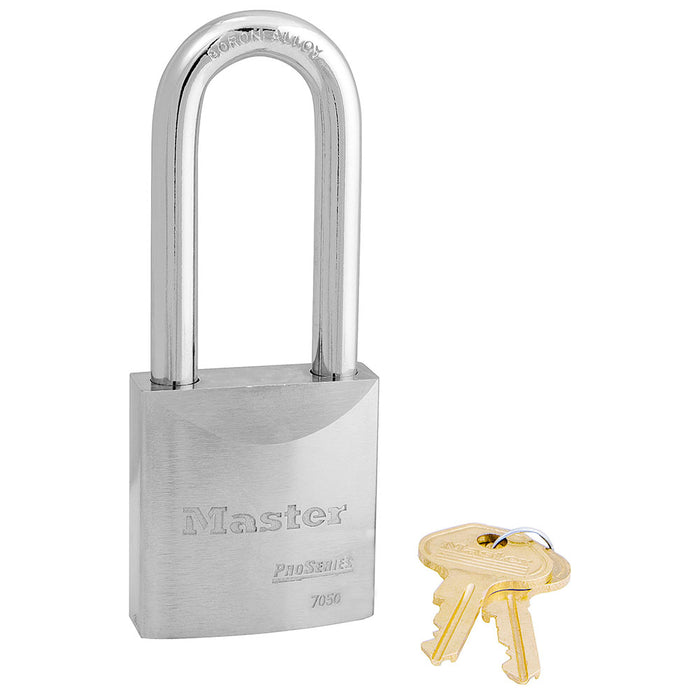 Master Lock 7050 ProSeries® Solid Steel Rekeyable Padlock 2in (51mm) Wide
