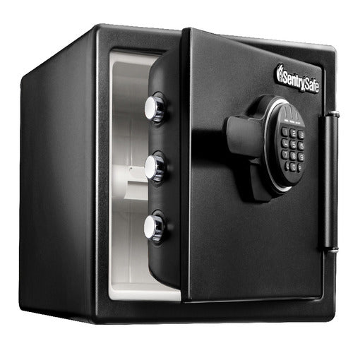 Sentry® Safe SFW082ET Fire Water Safe, Digital Lock, Tray, .8 cu. ft.