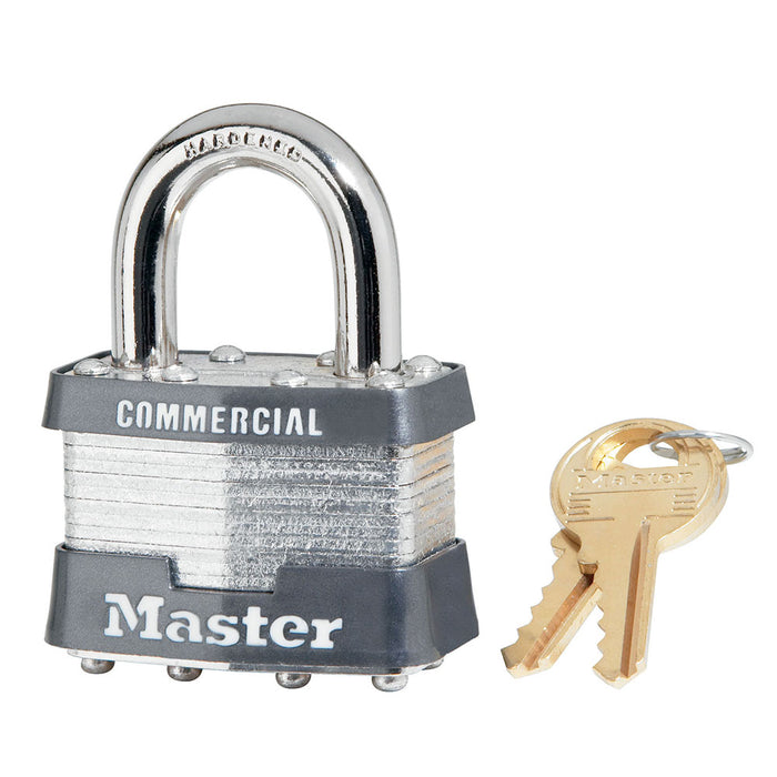 Master Lock 81 Laminated Steel Padlock 1-3/4in (44mm) Wide-Keyed-MasterLocks.com