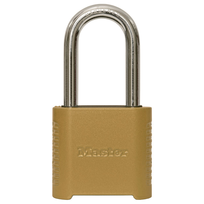 Master Lock 875D 2in (51mm) Wide Set Your Own Combination Padlock with 2in (51mm) Shackle-Combination-MasterLocks.com