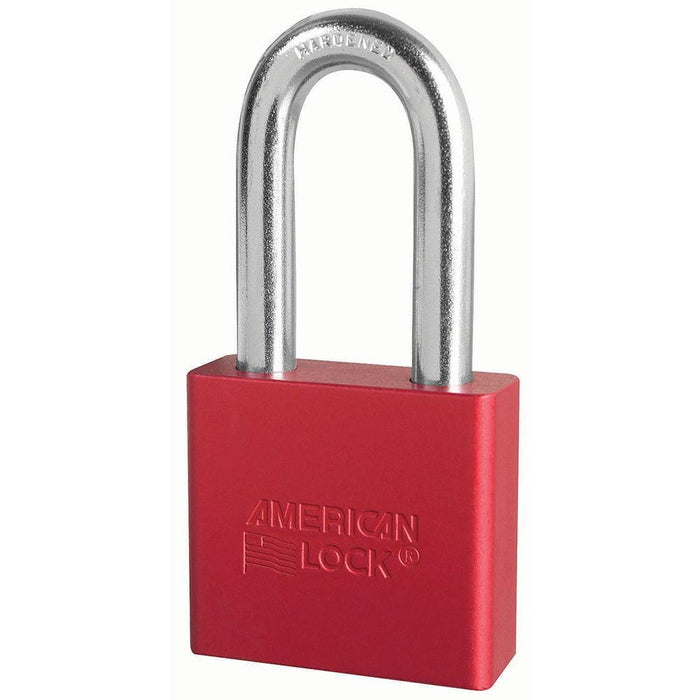 American Lock A1306 2in (51mm) Solid Aluminum Rekeyable Padlock with 2in (51mm) Shackle-Keyed-MasterLocks.com