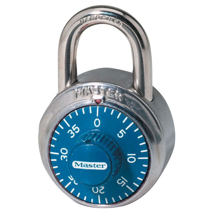 Master Lock 1506D Combination Dial Padlock; Dial 1-7/8in (48mm) Wide