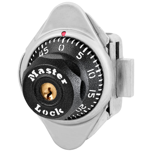 Master Lock 1631 Built-In Combination Lock for Lift Handle Lockers - Hinged on Left-Combination-MasterLocks.com