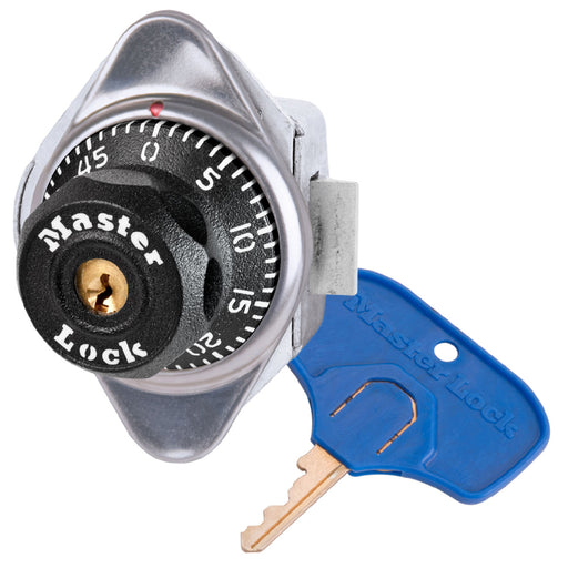 Master Lock 1651MKADA ADA Compliant Built-In Combination Lock for Single Point Horizontal Latch Lockers - Hinged on Left-Combination-MasterLocks.com