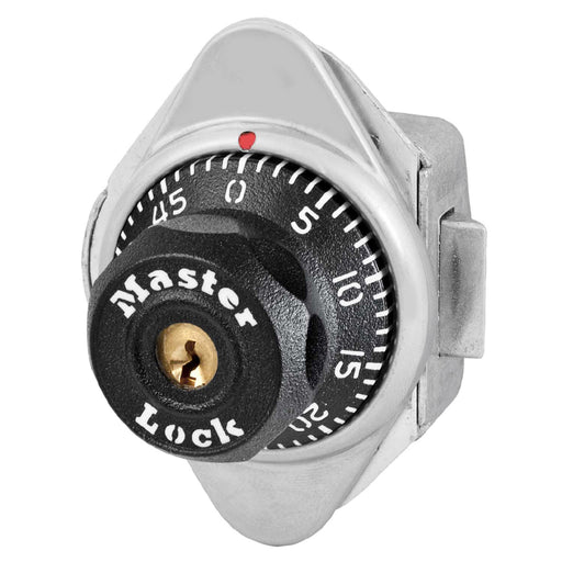 Master Lock 1655 Built-In Combination Lock for Horizontal Latch Box Lockers - Hinged on Left-Combination-MasterLocks.com
