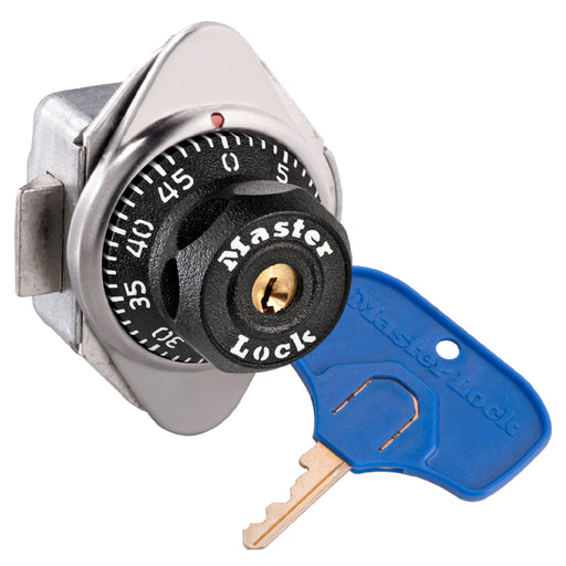 Master Lock 1656MKADA ADA Compliant Built-In Combination Lock for Single Point Horizontal Latch Lockers - Hinged on Right-Combination-MasterLocks.com