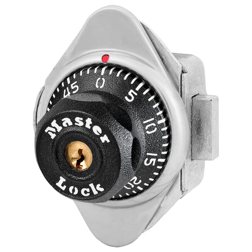 Master Lock 1671 Built-In Combination Lock for Lift Handle, Single Point and Box Lockers - Hinged on Left-Combination-MasterLocks.com