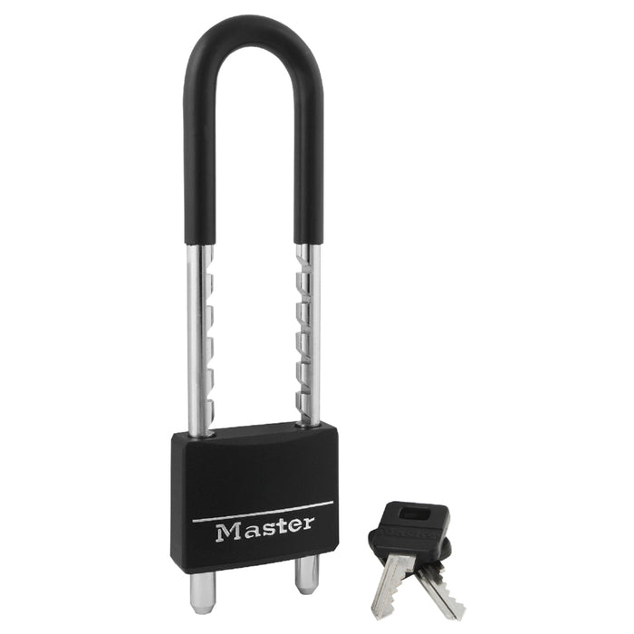 Master Lock 527D Covered Solid Body Padlock with Adjustable Shackle 2in (51mm) Wide