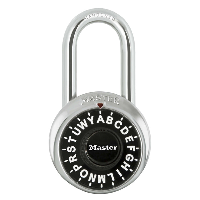 Master Lock 1573 1-7/8in (48mm) General Security Letter Combination Padlock with 1-1/2in (38mm) Shackle-Combination-MasterLocks.com