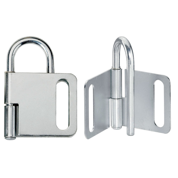 Master Lock 418 Steel Heavy Duty Lockout Hasp, Jaw Clearance 1in (25mm) Wide-Other Security Device-MasterLocks.com