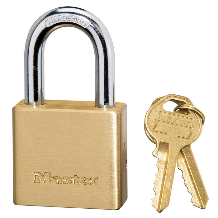 Master Lock 575DPF Solid Brass Body Padlock 1-1/2in (38mm) Wide