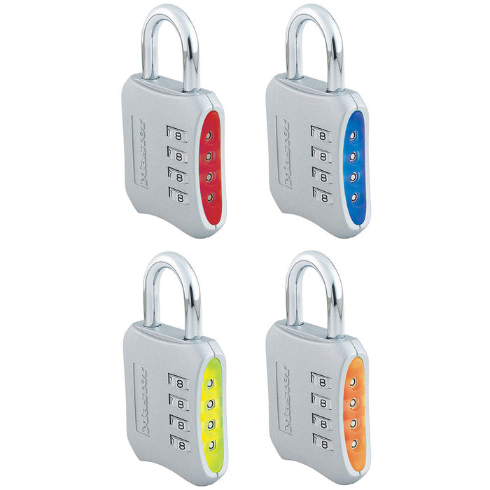Master Lock 653D Set Your Own Combination Padlock 2in (51mm) Wide