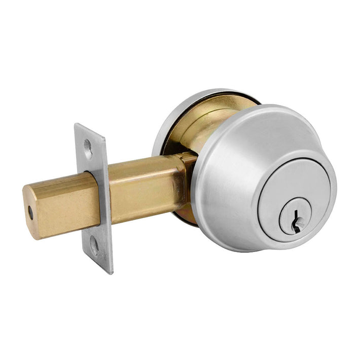 Master Lock DSC0632DKA4 Single Cylinder Deadbolt, Commercial Grade 2