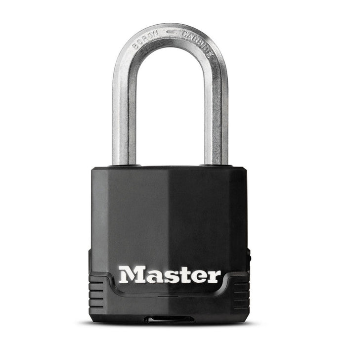Master Lock M115XDHC 1-7/8in (48mm) Wide Magnum® Covered Laminated Steel Padlock-MasterLocks.com