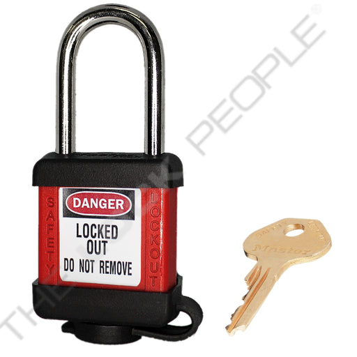 Master Lock 410COV Padlock with Plastic Cover 1-1/2in (38mm) wide-MasterLocks.com