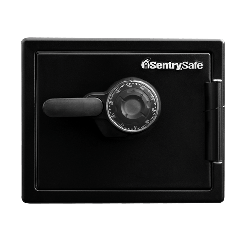 Sentry® Safe SFW082CTB Combination Fire/Water Safe, .81 cu. ft.-MasterLocks.com