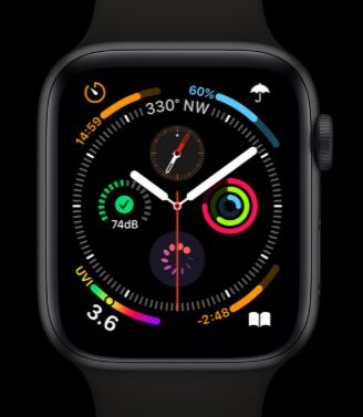 Apple Watch Series 5 Watch Face Front