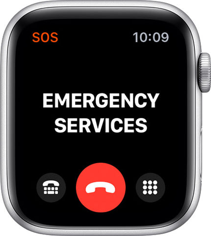 Apple Watch Emergency Services Face