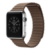 Brown Leather Loop Apple Watch Band - Standout Bands