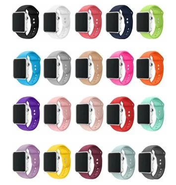 Classic Silicone Apple Watch Band - Standout Bands