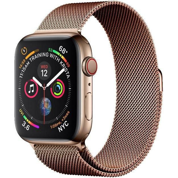 Coffee Milanese Apple Watch Band - Standout Bands