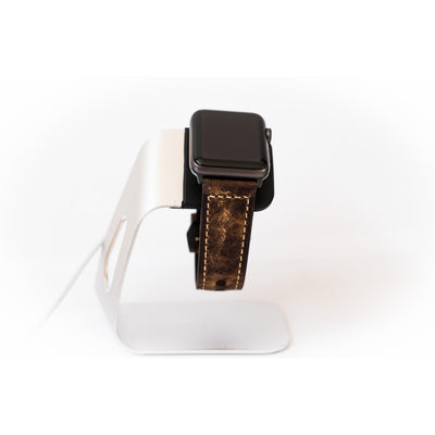 Italian Vintage Deep Coffee Apple Watch Band