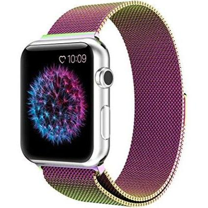 Kaleidoscopic Milanese Apple Watch Band - Standout Bands