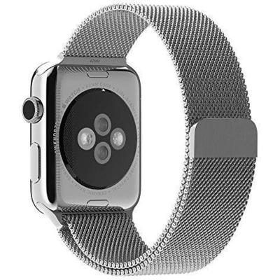 Silver Milanese Apple Watch Band - Standout Bands