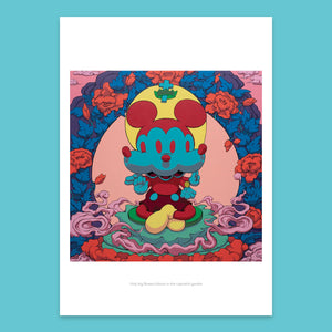Only big flowers - PRINT
