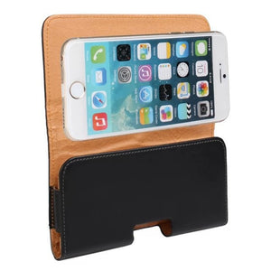 Leather iPhone belt case