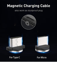 Load image into Gallery viewer, Magnetic USB Cable Fast Charging for Compatible Phones
