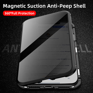 Privacy Screen Protector Tempered Glass Cover for iPhone