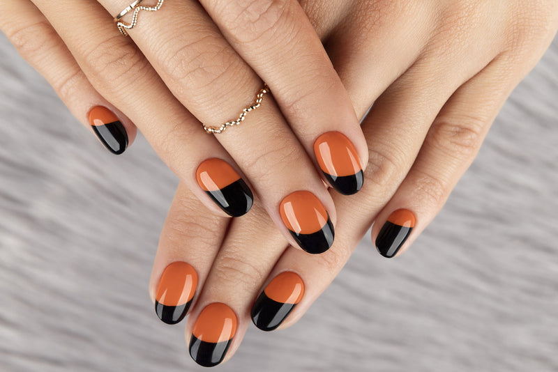 Simple Halloween Manicure Combos