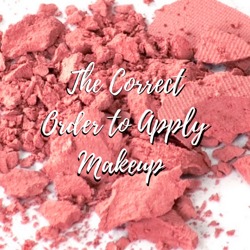 The Correct Order To Apply Makeup Products