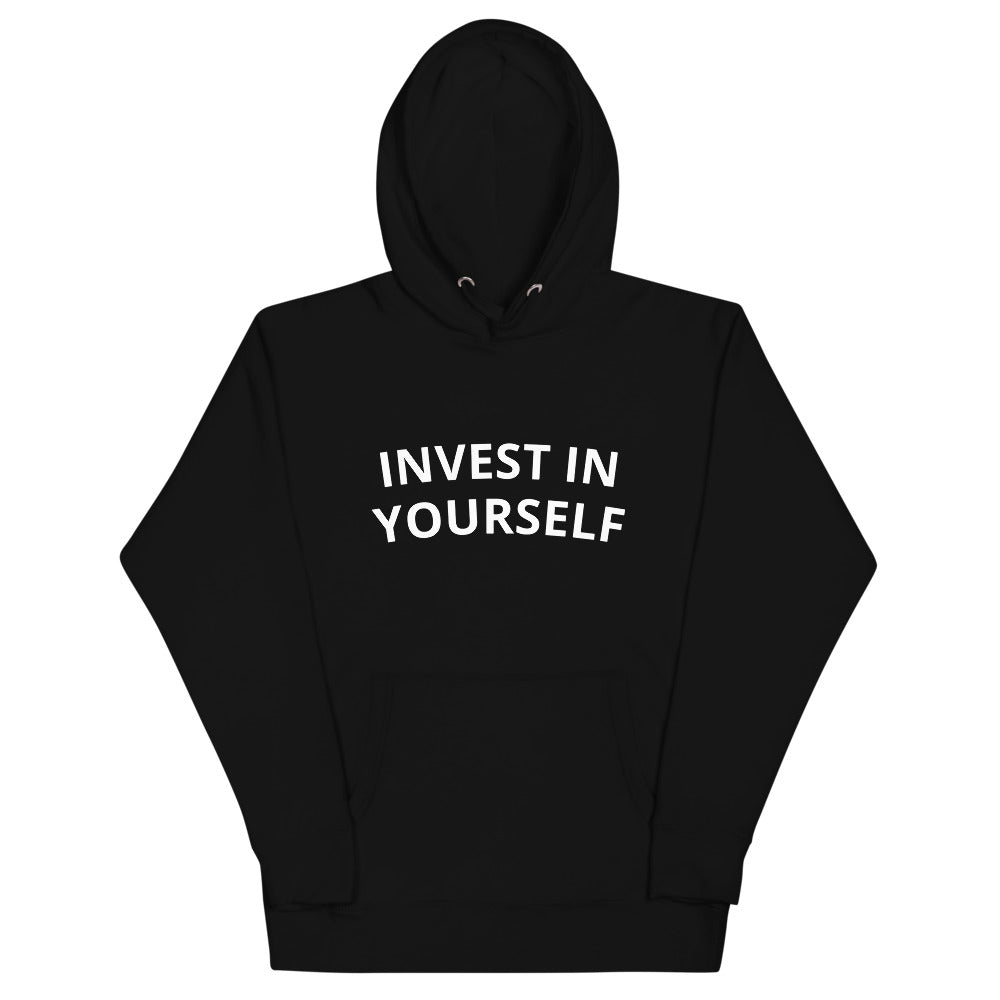 'Invest In Yourself' - Unisex Hoodie - Skinfolio Park Royal