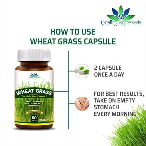 How-to-use-wheat-grass-capsule