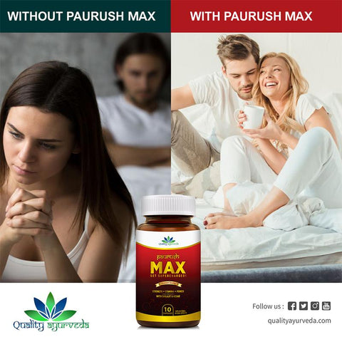 Paurush Max for Better love life