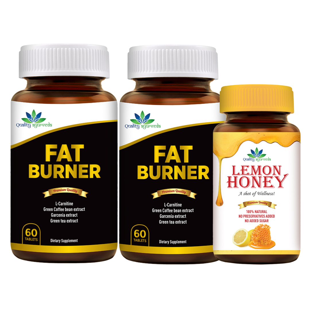 Super Saver Combo - Buy 2 Fat Burners at INR 1899 & Get Lemon Honey FREE