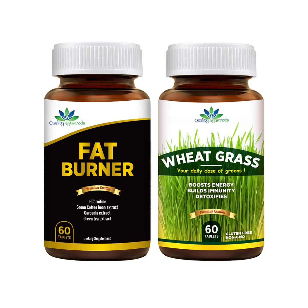 Super Saver Combo – Buy Fat Burner & Wheat Grass
