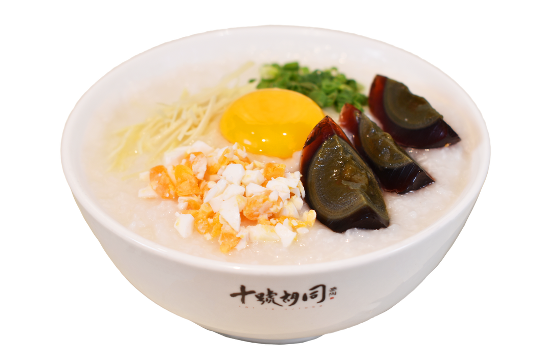 Golden Triple Eggs Porridge