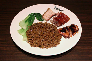 BBQ Pork Duck Noodle Meal Lunch Dinner Hawker Food Street Food