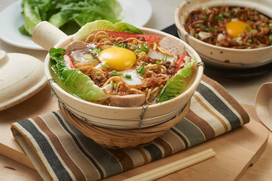 Claypot Yee Mee Noodles Lunch Dinner Meal Local Signature Favourite