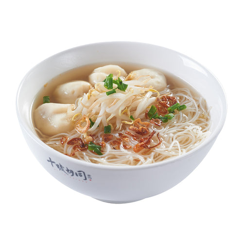 Hock Chew Fish Ball Noodle Soup MeeHoon Lunch Dinner Meal
