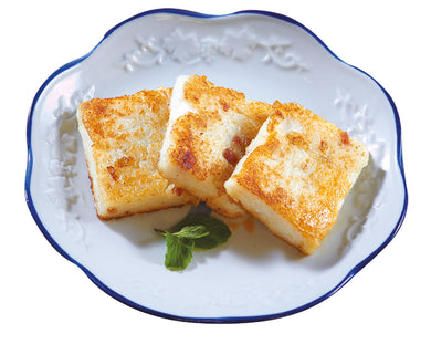 Pan Fried Radish Cake Snacks Dimsum