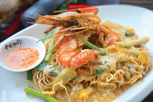 Sang Har Sang Mee Prawn Noodle Braised Local Dishes Favourite Hawker