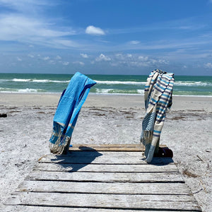 Palm Fouta Towel - Organic cotton - Love at 1st sight, could not be softer or more absorbent..
