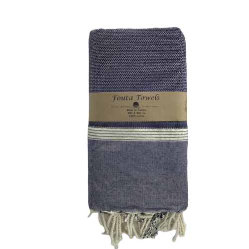 Fouta Natte bedspread - XL & XXL - Organic Cotton - Extra Comfort Under This Soft Cover