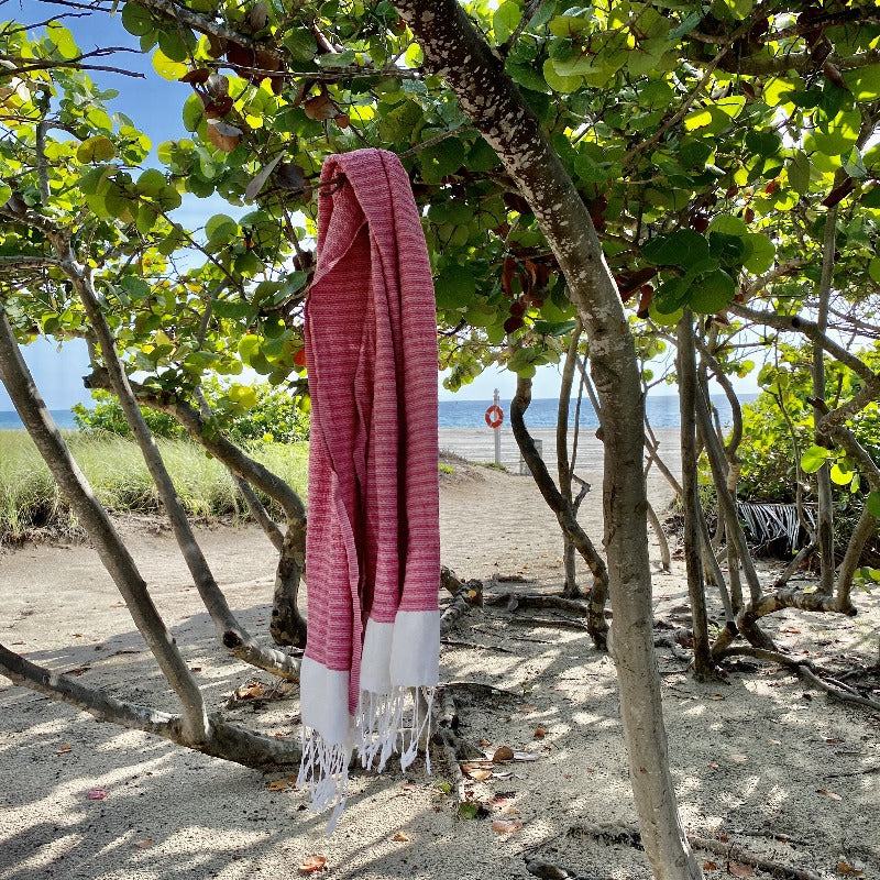 Sousse Fouta Towel - 100% cotton - A super soft throw shawl or bath towel