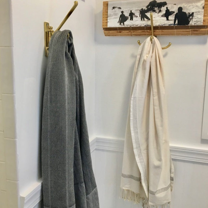 Herringbone Gallery Fouta Towel